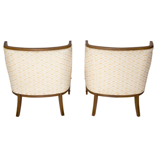 Slipper Chairs by Hibriten, A Pair - Image 7 of 10