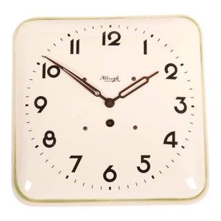 German Art Deco Wall Clock by Kienzle, 1930s