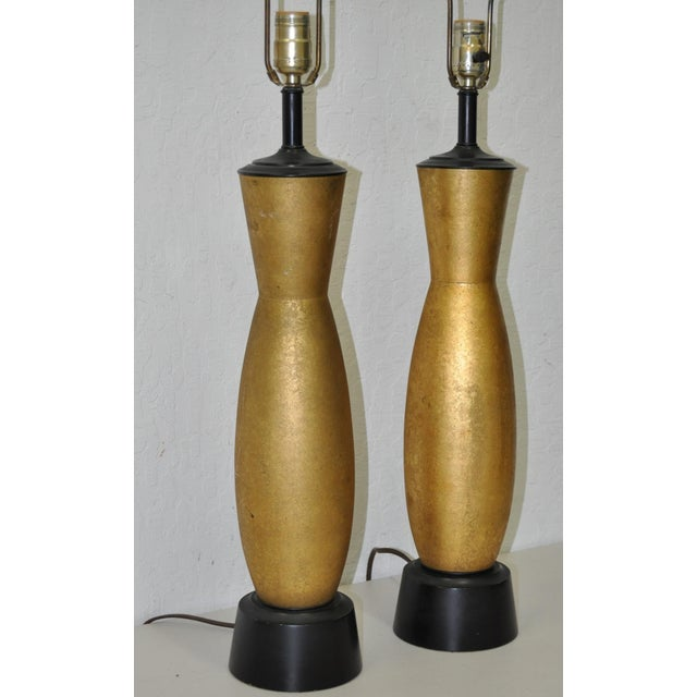 Image of Mid-Century Hollywood Regency Table Lamps