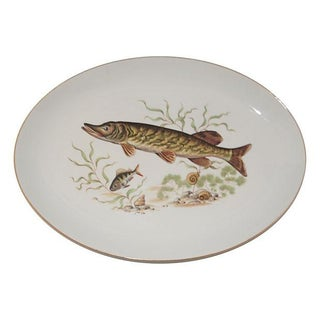 Bone China Fish Platter