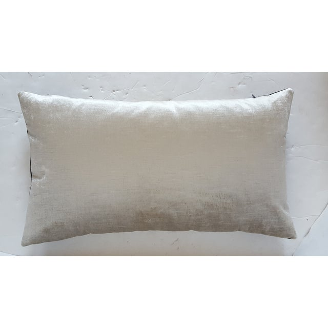Classic Crest And Passamenterie Trim Pillow - Image 3 of 3