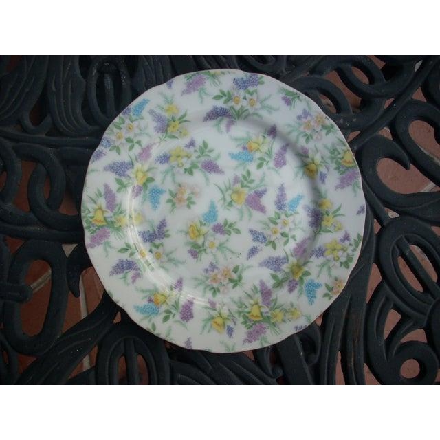 Lefton China Dessert Plates - Set of 4 - Image 3 of 5