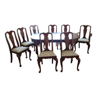 Henkel Harris Black Cherry Dining Set - 9 Pieces