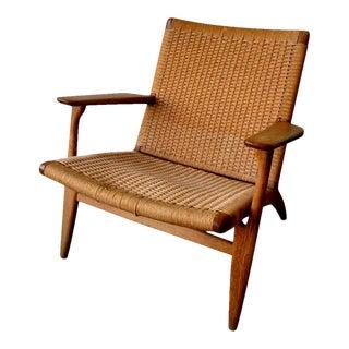 Hans J. Wegner Mid-Century Oak Chair