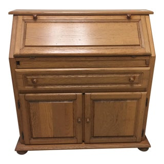 Folding Wood Secretary Desk