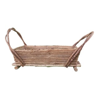 Decorative Adirondack Twig Basket