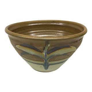 Hand Thrown Stoneware Serving Bowl