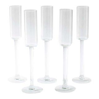 Test Tube Cordial Glasses - Set of 5