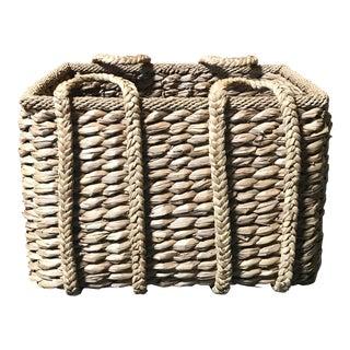 Woven Rectangular Basket