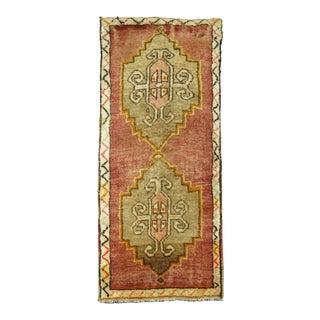 Turkish Vintage Anatolian Rug - 1'9'' x 3'10''
