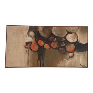 Large Mid-Century Abstract Painting