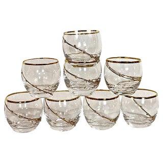 Roly Poly Rocks Glasses - Set of 8