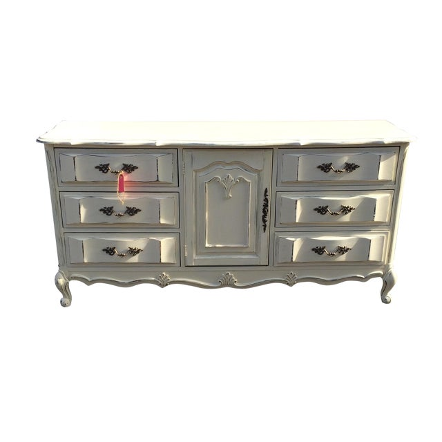 French Provincal Buffet Dresser - Image 1 of 8