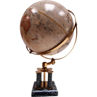 Vintage Sarreid ReplogleTerrestrial Globe