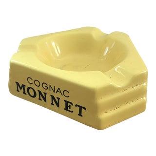 Cognac Monnet French Ashtray