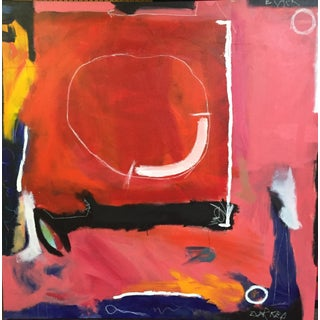 Basquiat Style Abstract Painting