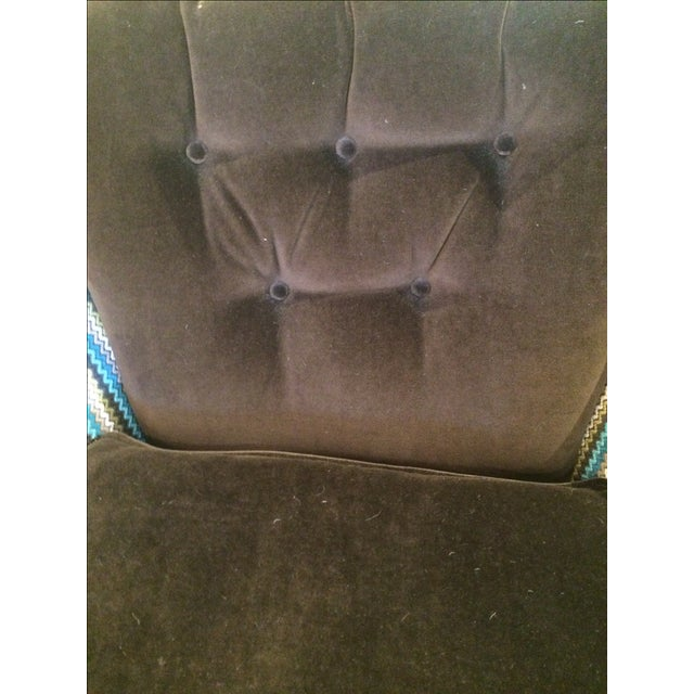Image of Vintage Reupholstered Club Chairs - A Pair