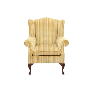Queen Anne Style Wingback