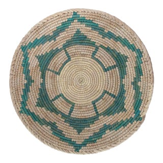 Native American Style Turquoise Star Basket