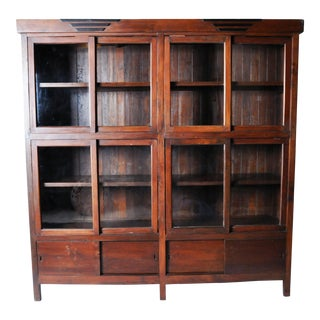 British Colonial Style Bookcase