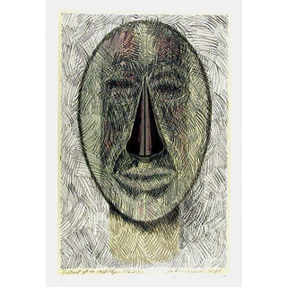 """John Russell Clift"""" Portrait of an Old Flyer Whirligig"""" Serigraph"""