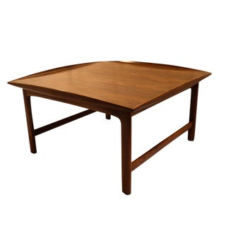 Folke Ohlsson For Dux Mid-Century Teak Coffee Table