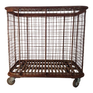 French Boulangerie Wire Basket