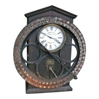 German Punching Clock 1920s