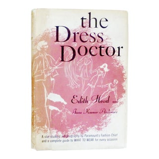 First Edition 'The Dress Doctor' by Edith Head