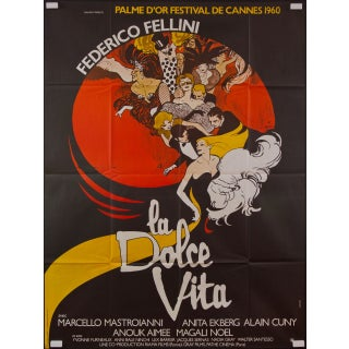 La Dolce Vita French Film Poster
