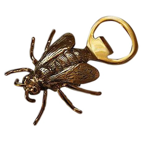 Image of Brass Royal Bee Bottle Opener