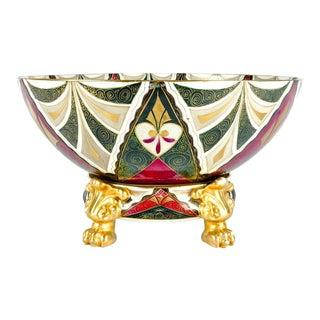 Porcelain Centerpiece Bowl