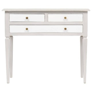 French Directoire Style Console Table With Drawers