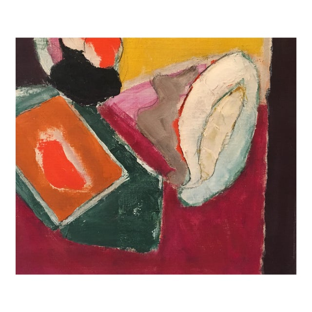 """Natura Moarta"" Abstract Still Life Painting - Image 1 of 10"