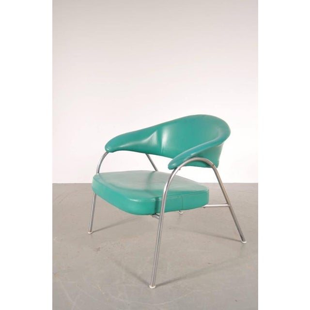 Image of Pair of Rare Easy Chairs Produced by Arflex, Italy, circa 1960