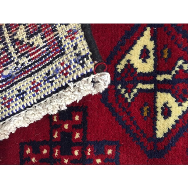 Turkaman Handmade Persian Rug - 1′8″ × 2′11″ - Image 11 of 11