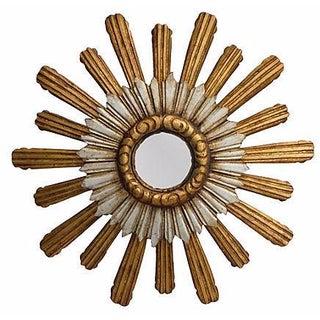 Large Sunburst Convex Mirror