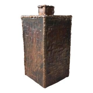 Mid-Century Modern Brutalist Marcello Fantoni Vase for Raymor