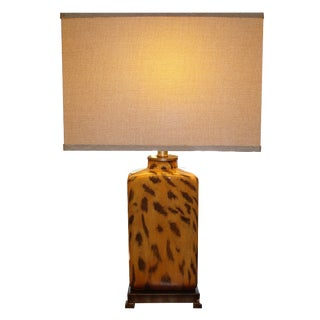 Modern Cheetah Print Lamp