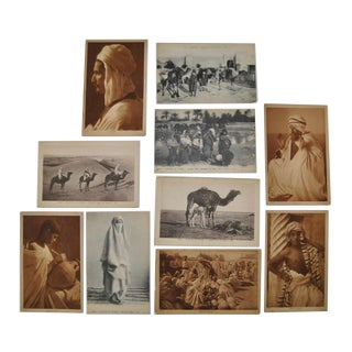 Circa 1910 Lehnert & Landrock North Africa Photo Postcards - Set of 10