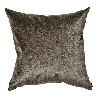 Missoni Square Dark Gray Velvet Home Pillow