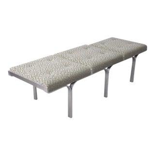 John Behringer Three-seat Aluminum Link Bench