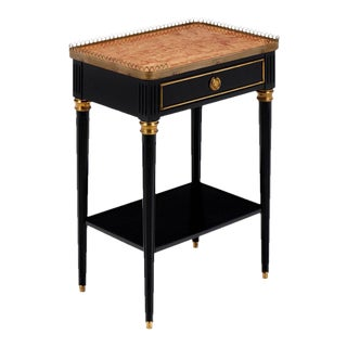 """Louis XVI """"Brêche d'Alep"""" Marble-Top Side Table"""