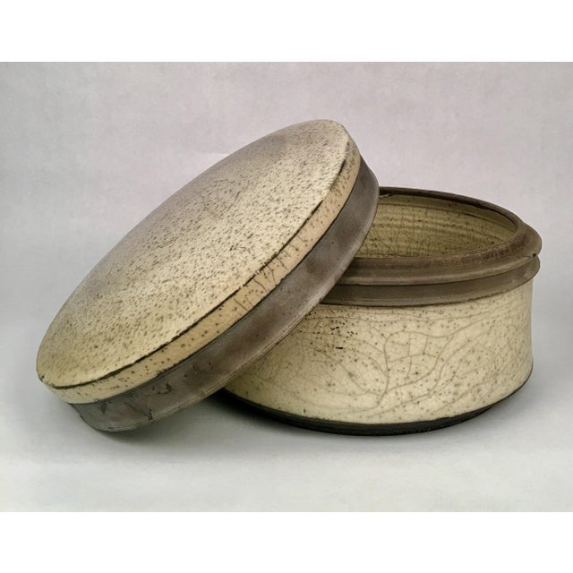 Image of Russell Kagan Signed Lidded Bowl