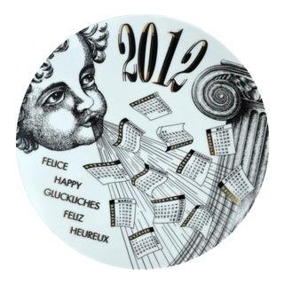 2012 Fornasetti Calendar Plate
