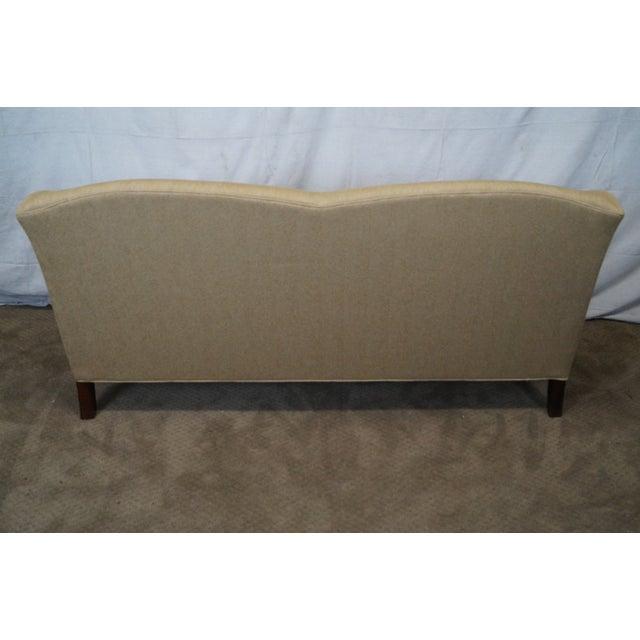 Image of Ethan Allen Elements Gold Upholstered Sofa