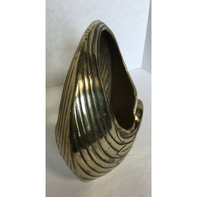 Art Deco Style Brass Swan Basket - Image 5 of 8