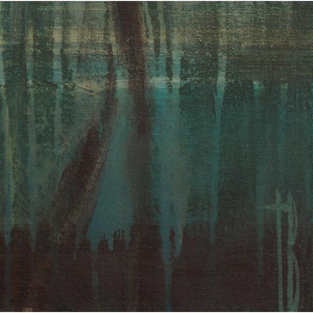 """Terri Burris """"Cattails"""" Original Painting - Image 2 of 2"""