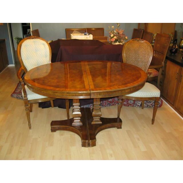 drexel heritage solid mahogany dining set s 11 chairish