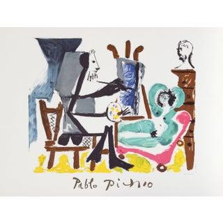 Pablo Picasso -Le Peintre Et Son Modele Lithograph